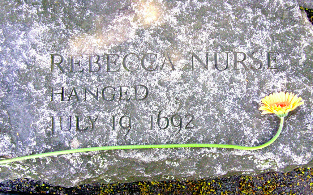 "Rebecca Nurse's ""seat"" in the memorial"