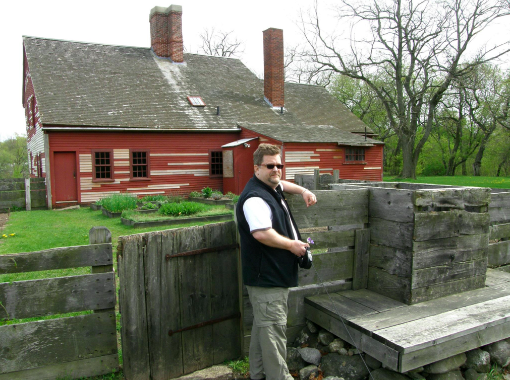 Robert at Rebecca Nurse's house
