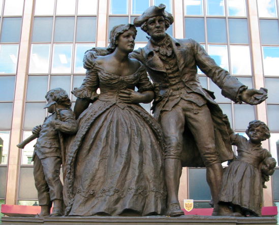 United Empire Loyalists monument, Hamilton, Ontario