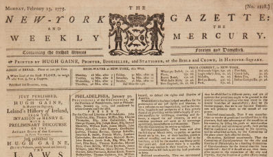 New York Gazette and the Weekly Mercury